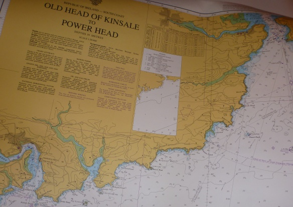 Nautical Chart - Old Head of Kinsale to Power Head