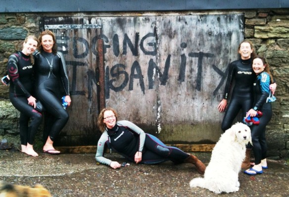 Edging Insanity - Fiona Gough, Michelle Glossop Smith, Siobhan Russell, Rosaleen MacKweon & Ger Venner