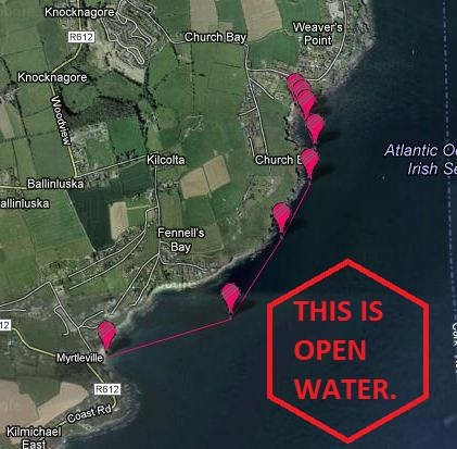 Open Water swimming in Cork, Ireland