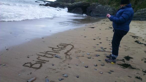Susan Thornton - Birthday beach