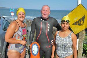 Open water sea swimming in Cork, Ireland