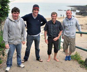 Owen O'Keeffe, Eoin O'Riordan, James Slowey & Niall O'Herlihy