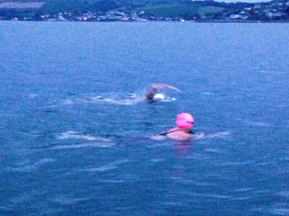 Open water sea swimming in Cork, Ireland