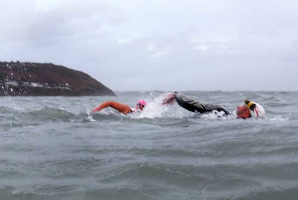 Open water, sea swimming in Cork Ireland