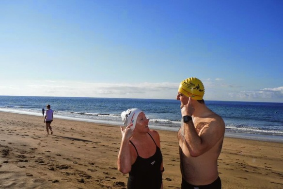 Open water, sea swimming in Cork, Ireland & Lanzarote!