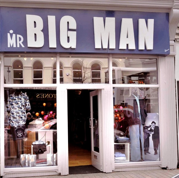 Mr. Big Man, 62 Patrick Street, Cork.