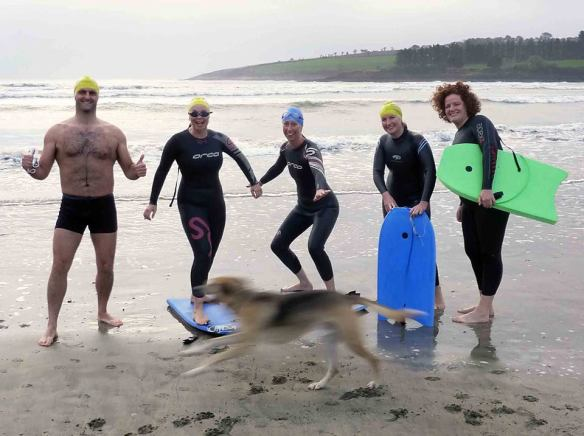 Lemmy, at speed, takes over the surfers pic.