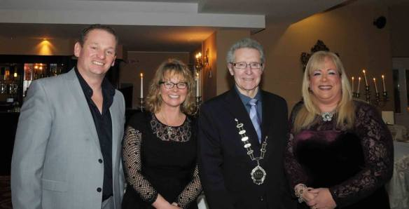 Ger Kennedy, Siobhan Russell, Billy Wallace and Marie Watson.