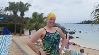 Bonnie Schwartz in Bermuda.