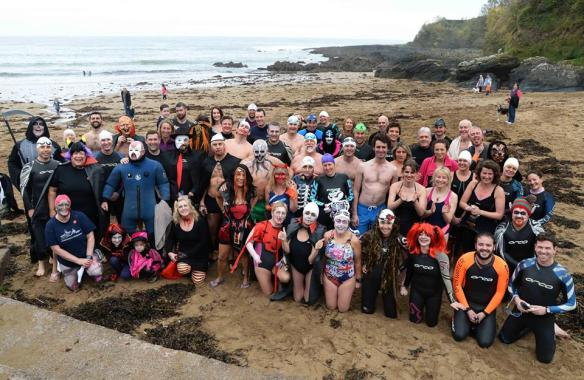 Vampire Swim, Open water, sea swimming in Cork, Ireland.