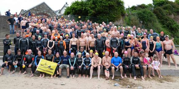RNLI Myrtleville-Church Bay swim, 2016.