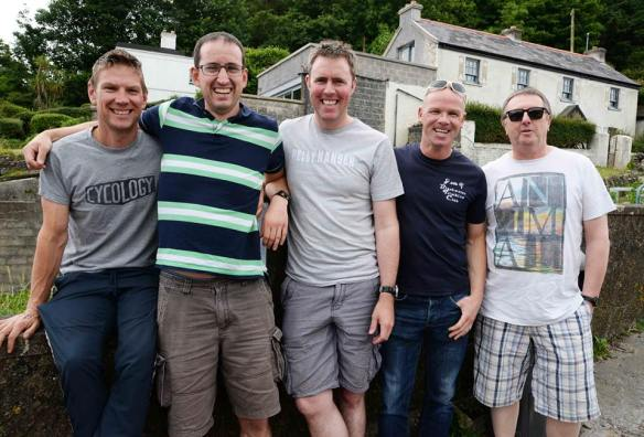 The boys from the Blackwater Tri Club
