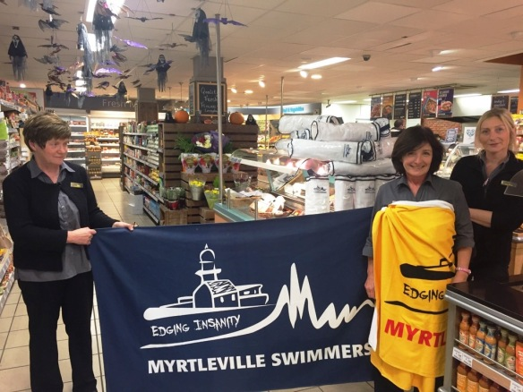 Myrtleville Swimmers towels - Antoinette demonstrates safe usage.