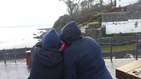 Secret Six swimmy types doing secret stuff looking at the water in Myrtleville.  Nice one.