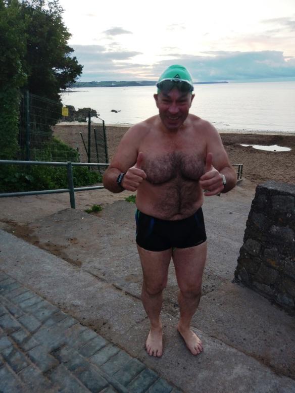 Open water swimming in Cork, Ireland. Steve Redmond.